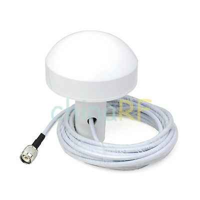 Brand New GPS Active Marine/Navigation Antenna 5 meter Cable with TNC male plug