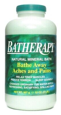 Queen Helene Batherapy Natural Mineral Bath Salt Original  - 2 Lbs. (32 oz.)