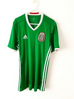 9a8b87ce0 Mexico Home Shirt 2016. Small Adults. Adidas. Green Short Sleeves Football  Top S