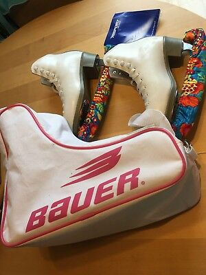 Women's Ice Skates Size 2 - Risport Skates, used but in great condition.