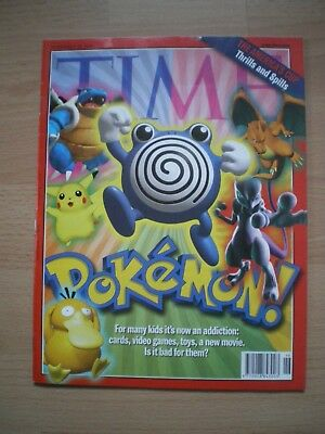 Time Magazine, November 22Nd 1999 - Including Pokemon Article