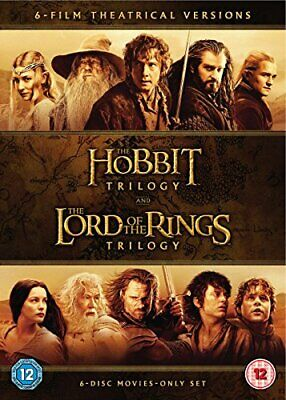 Hobbit TrilogyThe Lord Of The Rings Trilogy (6 Dvd) [2016]