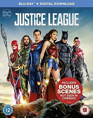Justice League [Bluray  Digital Download] [2017] [DVD]