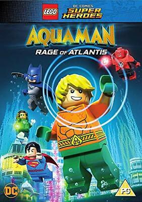 LEGO Aquaman - Rage of Atlantis [DVD] [2018][Region 2]