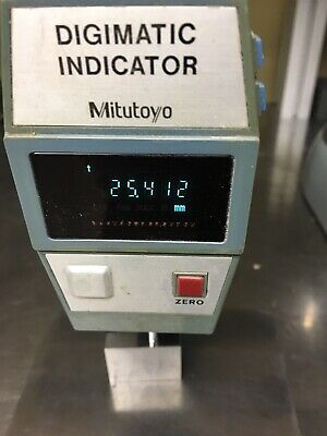 Mititoyo Digital Indicator With Cast Steel Inspection Plate