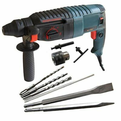 KATSU Electric SDS Rotary Hammer Drill Breaker With Extra Chuck Accessories 26mm