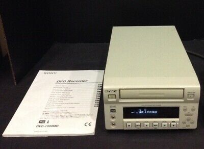 Sony Dvo-1000Md Professional Medical Dvd Recorder With Built In Hard Disk Drive