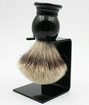 LUXURY SILVERTIP BADGER Hair Men Shaving Brush Wet Shave
