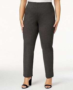 89a061a8ca4 JM Collection Women s Plus Pull On Charcoal Pants Size 2X