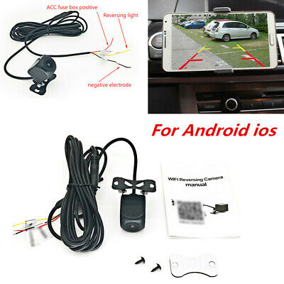 Vehicle Electronics & Gps 150° Wifi Wireless Car Rear View Cam Backup Reverse Camera Android Ios Universal Rear View Monitors/cams & Kits