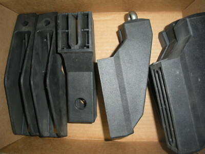 conveyor guard rail brackets Marbett Valu Guide System Plast 11pc assortment