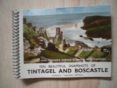 Ten Beautiful Snapshots Of Tintagel And Boscastle - Mini Booklet Photographic Im