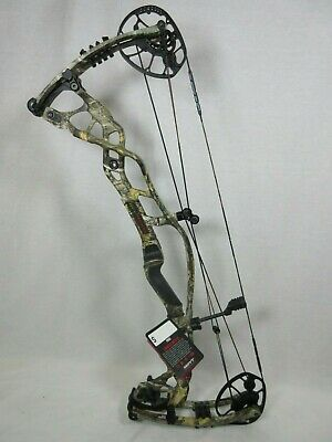 "Hoyt Carbon RX-1 Compound Bow 27-30"" Right Hand 60 - 70# Real Tree Edge Camo"
