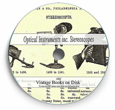 Rare Books on DVD - Stereoscopes Stereograph Vintage Photograph Slides Image B2