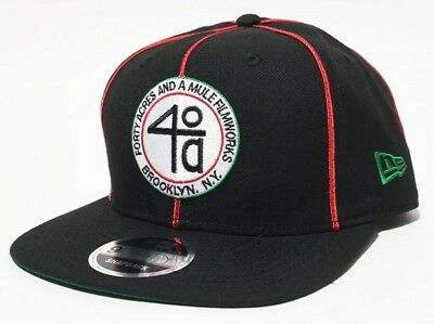 e520bff7ced NEW ERA × 40ACRES Movie Spike Lee Snapback Cap 9FIFTY Original Fit Old Logo  New