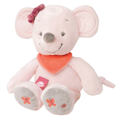 Brand new Nattou Adele and Valentine cuddly Valentine the mouese soft toy 0+