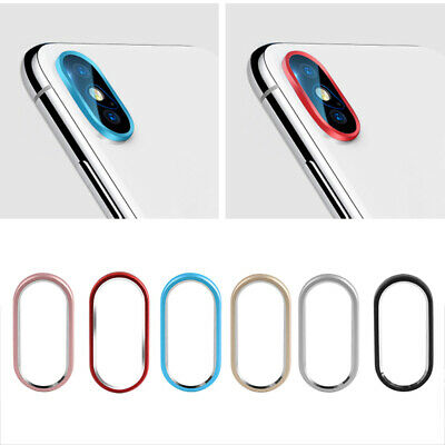 Cover Lens Protector Case Rear Camera Circle For iPhone XS Max XR X 7 8 Plus