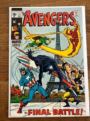 Avengers 71 Vf+ First Invaders Endgame Title Black Knight Joins Avengers Mcu