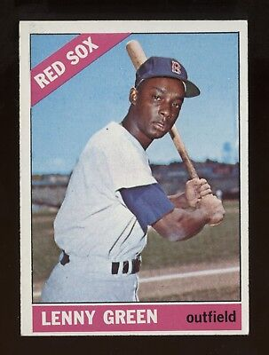 1966 Topps Semi-HIGH #502 Green in ExMt condition