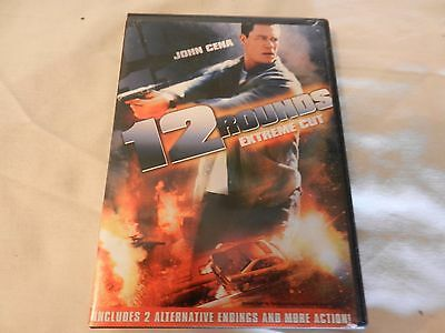 12 Rounds (DVD, 2009, Rated/Unrated) John Cenna