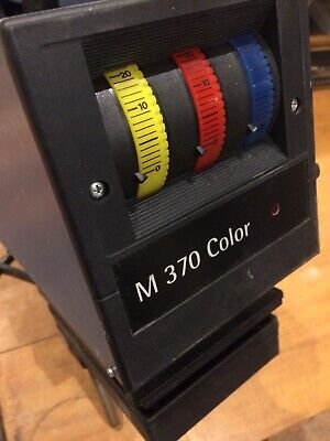 "Durst M370 Color Enlarger With TRA305N Transformer And HANSA ""enlarger timer II"""