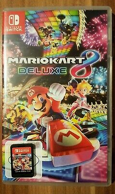 Mario Kart 8 Deluxe Switch Wie Neu Nintendo Switch Spiel Game Mariokart 3Ds Auto