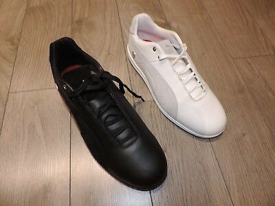 Puma Original Shoes Future Cat LS SF Scuderia Ferrari Black White 305811