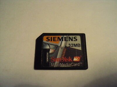 Original Siemens Sl45 Memory Card 32Mb Mmc Card Multimedia Card