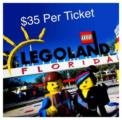 Legoland Florida Tickets $35 A Promo Discount Savings Tool - Good Thru 10/2019