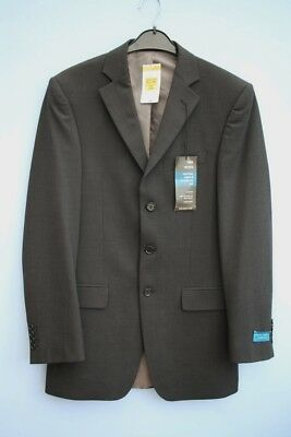 """BNWT Marks & Spencer Charcoal Grey Wool Blend Tailored Jacket 36"""" inch Chest"""