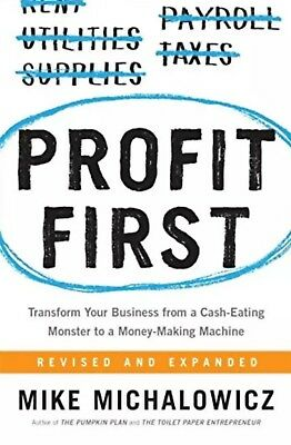 Profit First Transform Your Business from a Cash-Eating {PDF + EPUB + KINDLE}