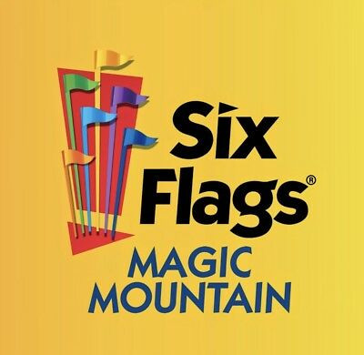 Six Flags MAGIC MOUNTAIN $55 TICKETS PROMO SAVE DISCOUNT ~ FAST DELIVERY!