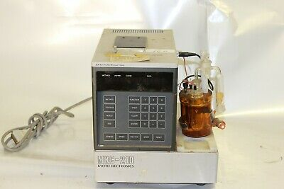 Used Automatic Titrator - Kyoto Electronics -  MKC-210