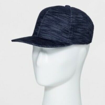 1888e80bede Men s GOODFELLOW   CO - One Size- Curved Brim Baseball Hat Cap Blue Gray