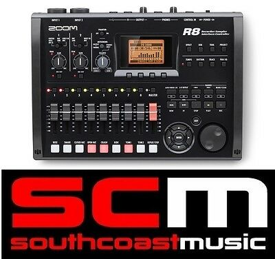 Zoom R8 8 Track Digital Multi Recorder USB Audio Interface Controller w WARRANTY