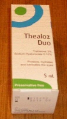 Thealoz Duo - Protects, Hydrates + Lubricates Dry Eyes - Preservative Free