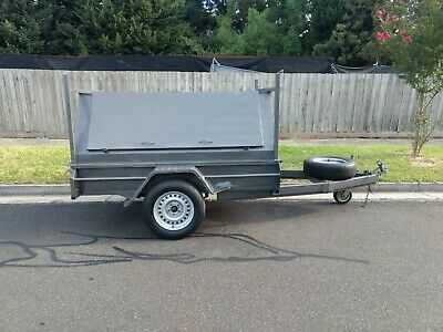 7 x 4 HEAVY DUTY TRADESMAN TRAILER TOOL BOX TOP CARPENTER HANDYMAN - Melb.