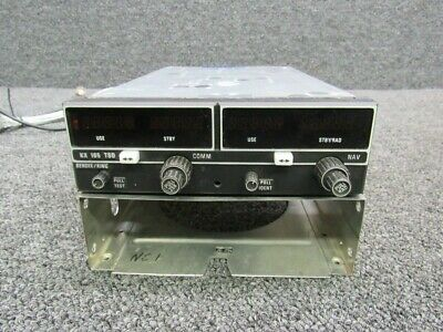 069-1025-25 King KX165 VHF Communication / Navigation Rec W/ Tray & Glideslope