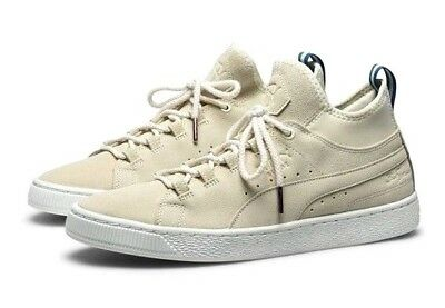 innovative design f7f4c 6d98d NEW PUMA X Big Sean Suede Mid Classic 50th Pack Whisper White Mens Size 9.5  $110