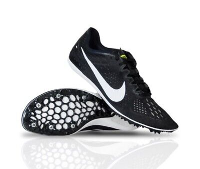 reputable site 75192 03f71 NEW Nike Zoom Victory 3 Track Running Shoes Mens Size 15 Black White 835997- 017