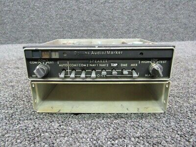 622-2087-001 Collins AMR-350 Audio Marker Radio W/ Tray (Volts: 14)
