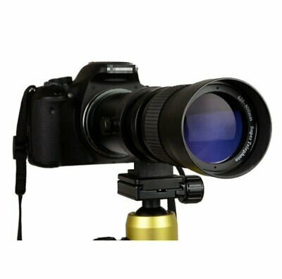 420-800mm f/8.3 - 16 Super Telephoto Zoom Camera Lens for Nikon Canon +T Mount W