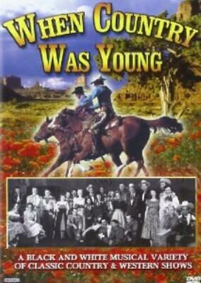 Various Artists - When Country Was Young DVD Incredible Value and Free Shipping!