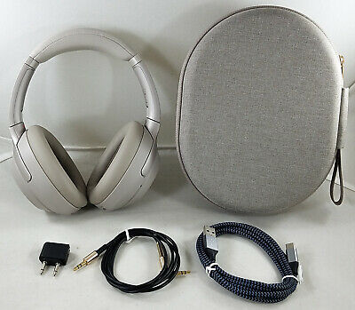 SONY WH1000XM3 WIRELESS Bluetooth Noise Canceling Over Ear Headphones  (Silver)