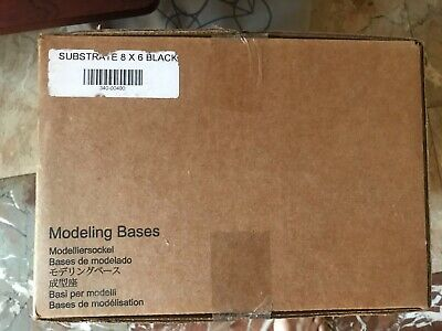 "Stratasys 340-00400 Dimension 3D Printing Modeling Bases 8""x 6"" (OEM Box of 24)"
