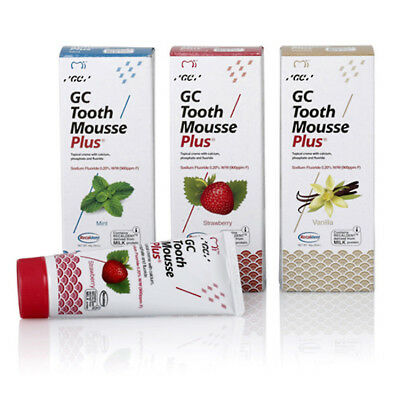 1x GC Tooth Mousse PLUS   remineralising whitening as MI PASTE plus ASK FOR DEAL