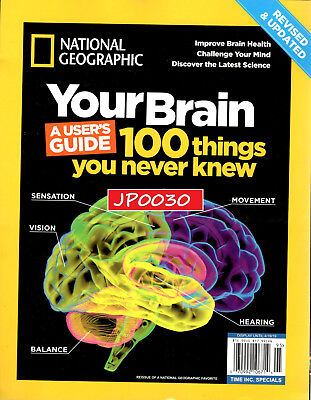 National Geographic 2019, Your Brain, Brand New/Sealed, Reissue