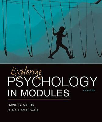 Exploring Psychology in Modules by David G. Myers & C. Nathan DeWall 10th Ebook