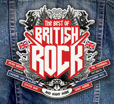 Various Artists : Best of British Rock CD 2 discs (2019) ***NEW*** Amazing Value
