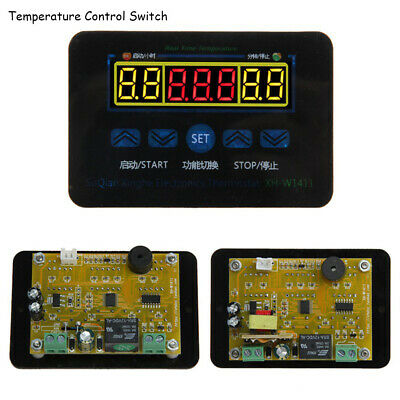 Temperature Controller Digital LED Thermostat Control Switch Sensor Probe
